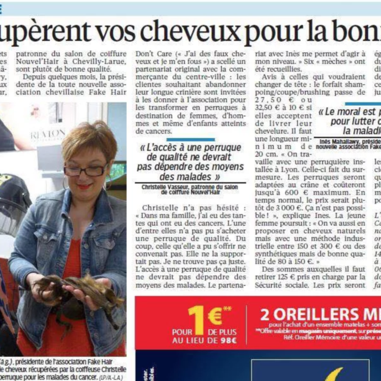 Fake Hair Don't Care - Parisien du 94 - mai 2016